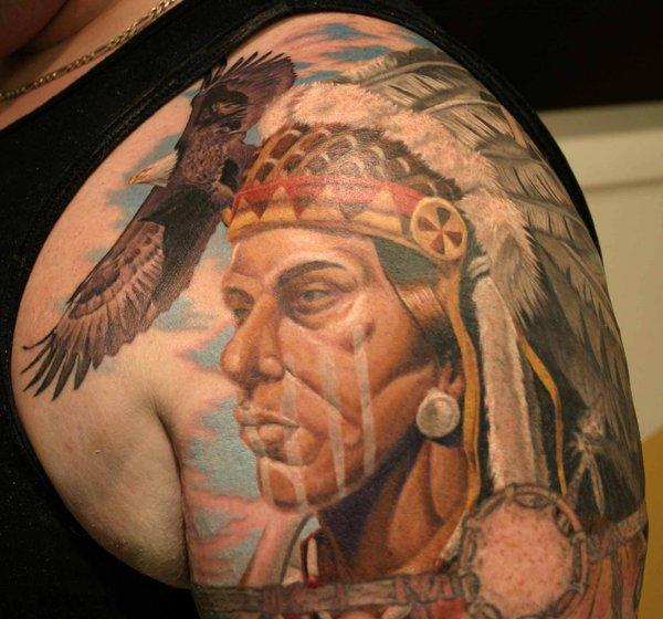 native american tattoos photo - 7