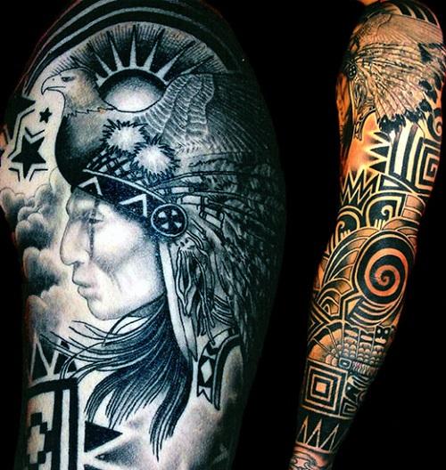 native american tattoos photo - 8