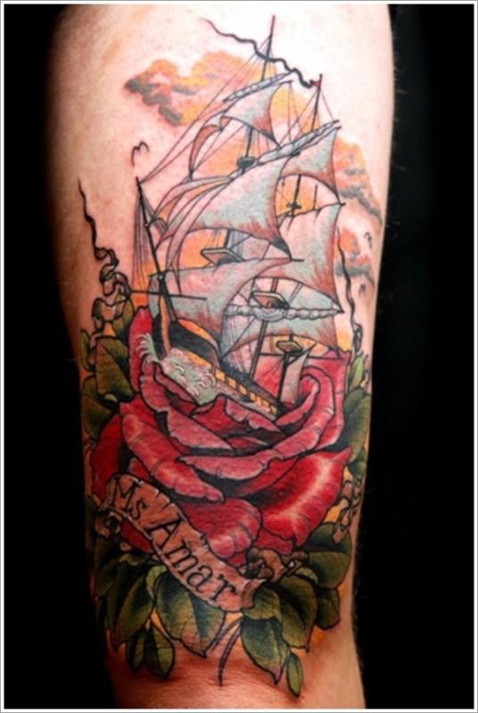 nautical tattoos photo - 25