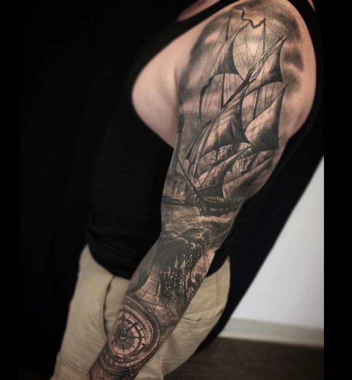 nautical tattoos photo - 29