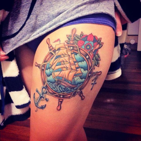 nautical tattoos photo - 7