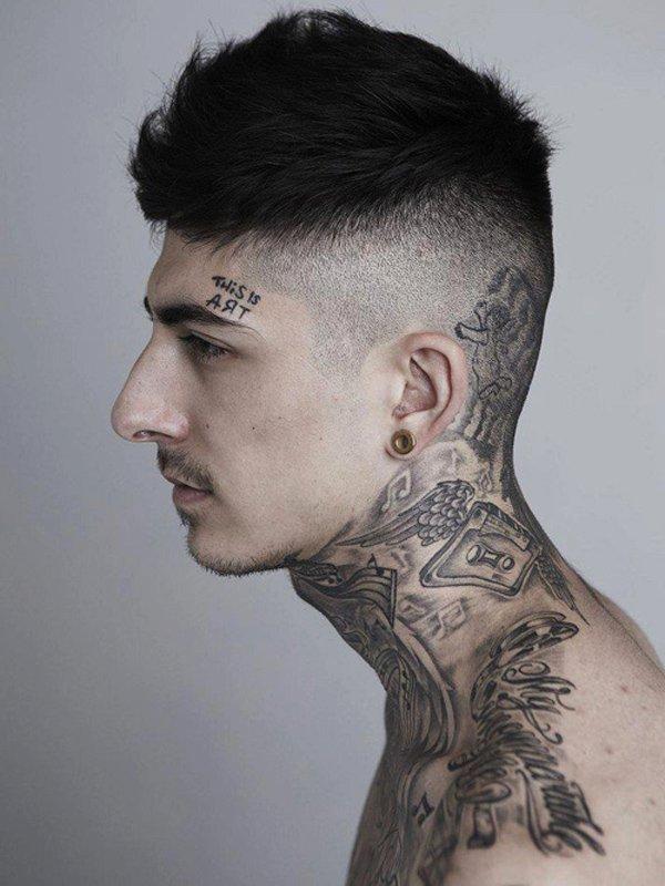 neck tattoos photo - 1