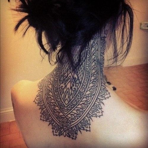 neck tattoos photo - 13