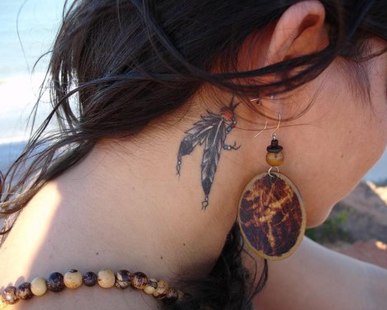 neck tattoos photo - 16