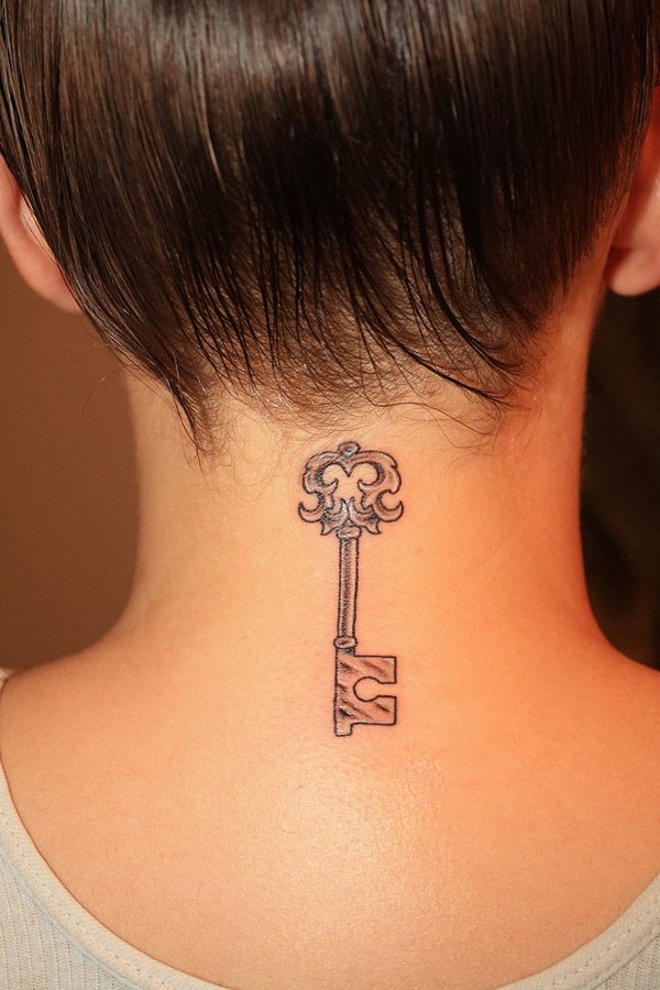 neck tattoos photo - 22