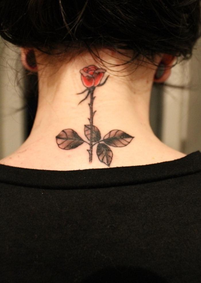neck tattoos photo - 28