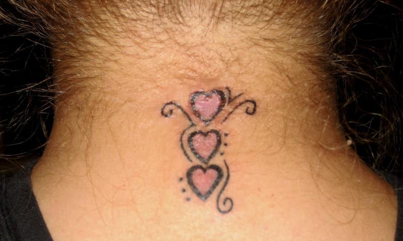neck tattoos photo - 34