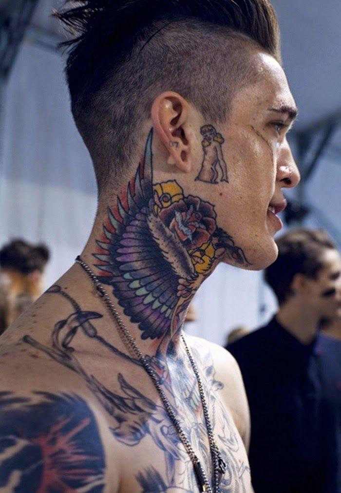 neck tattoos photo - 6