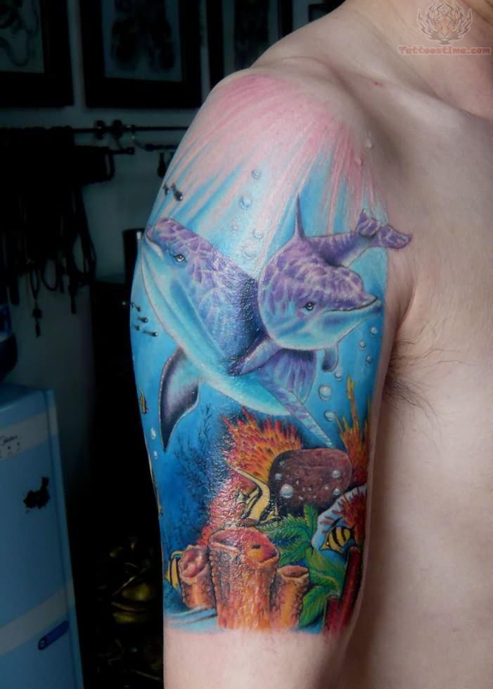 ocean tattoos photo - 1