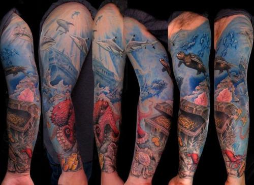 ocean tattoos photo - 11