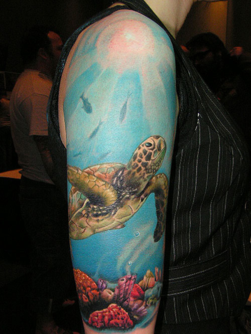 ocean tattoos photo - 12