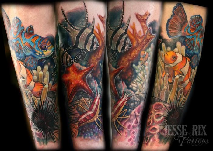 ocean tattoos photo - 18