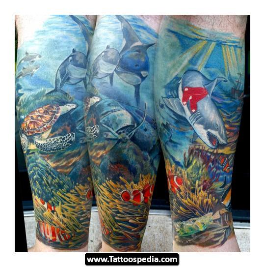 ocean tattoos photo - 21