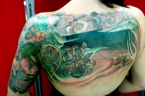 ocean tattoos photo - 23