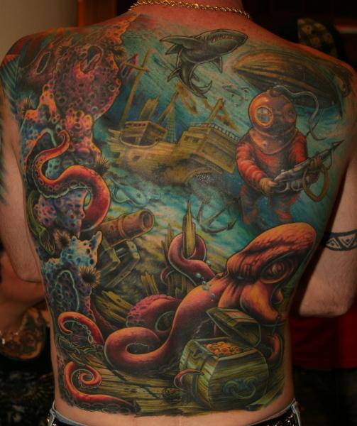 ocean tattoos photo - 3