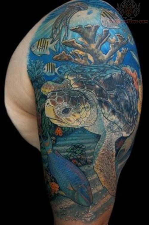ocean tattoos photo - 4