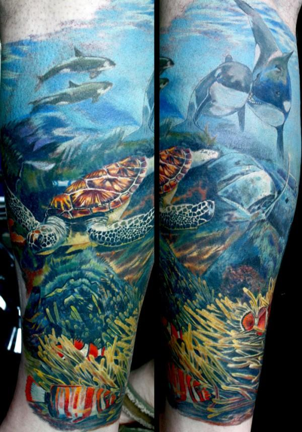 ocean tattoos photo - 8