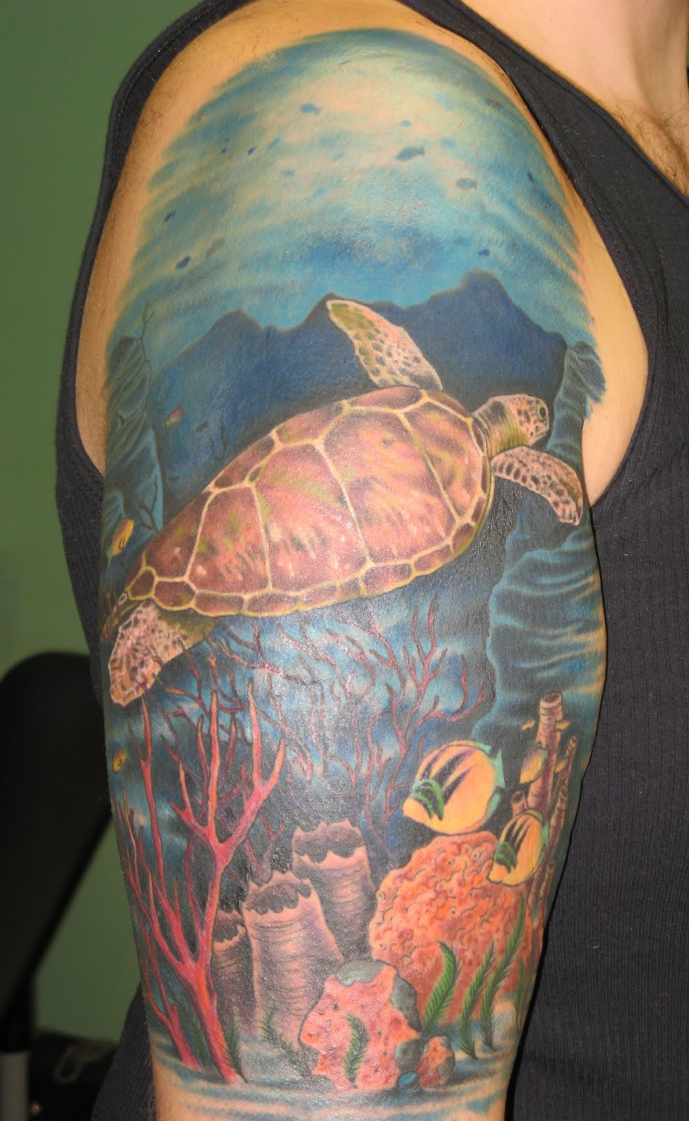 ocean tattoos photo - 9