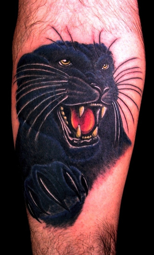 panther tattoos photo - 10