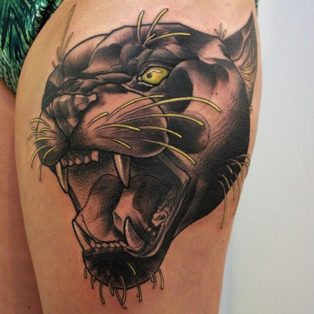 panther tattoos photo - 18