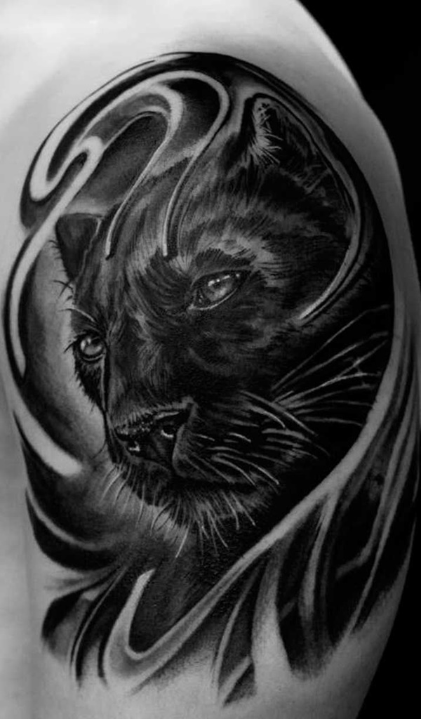 panther tattoos photo - 38