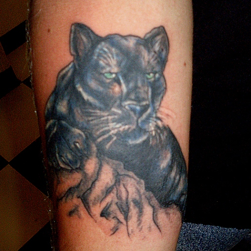 panther tattoos photo - 5