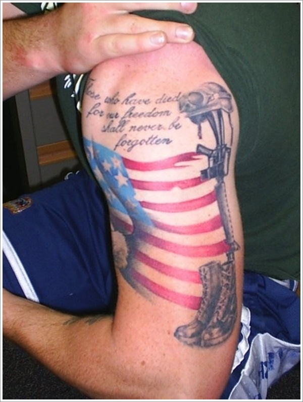 patriotic tattoos photo - 3