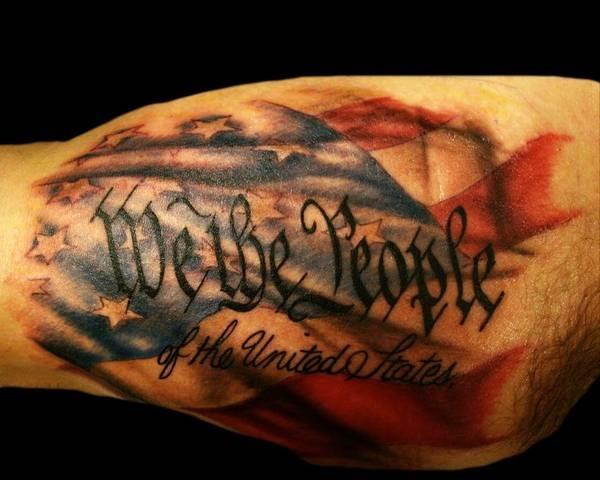 patriotic tattoos photo - 9