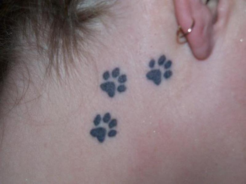 paw tattoos photo - 11
