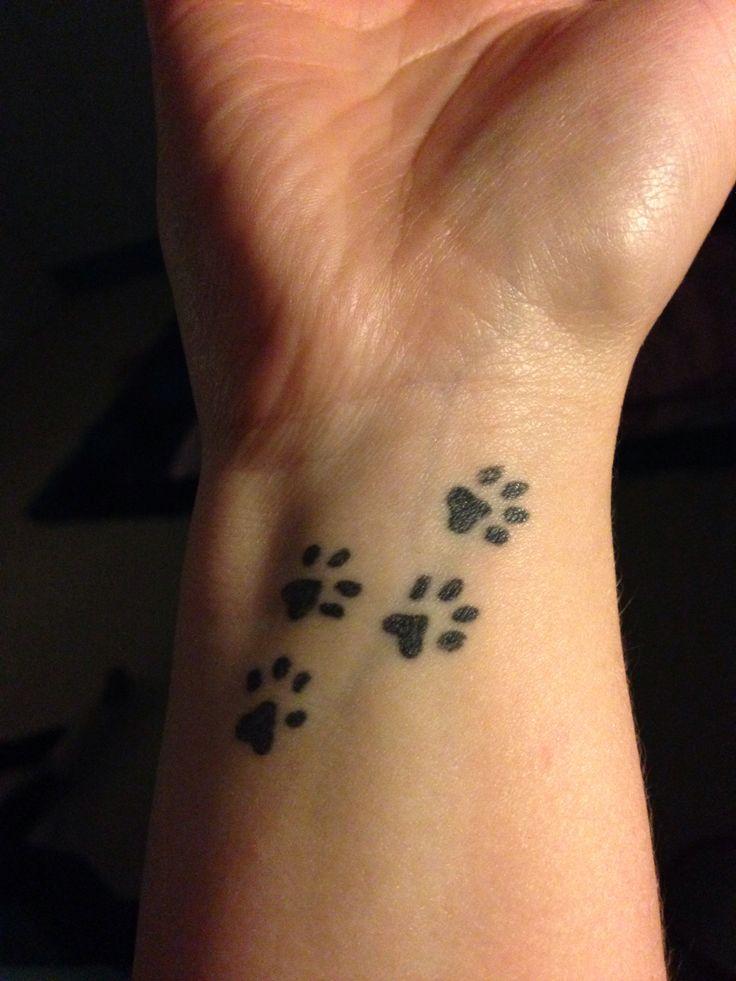 paw tattoos photo - 12