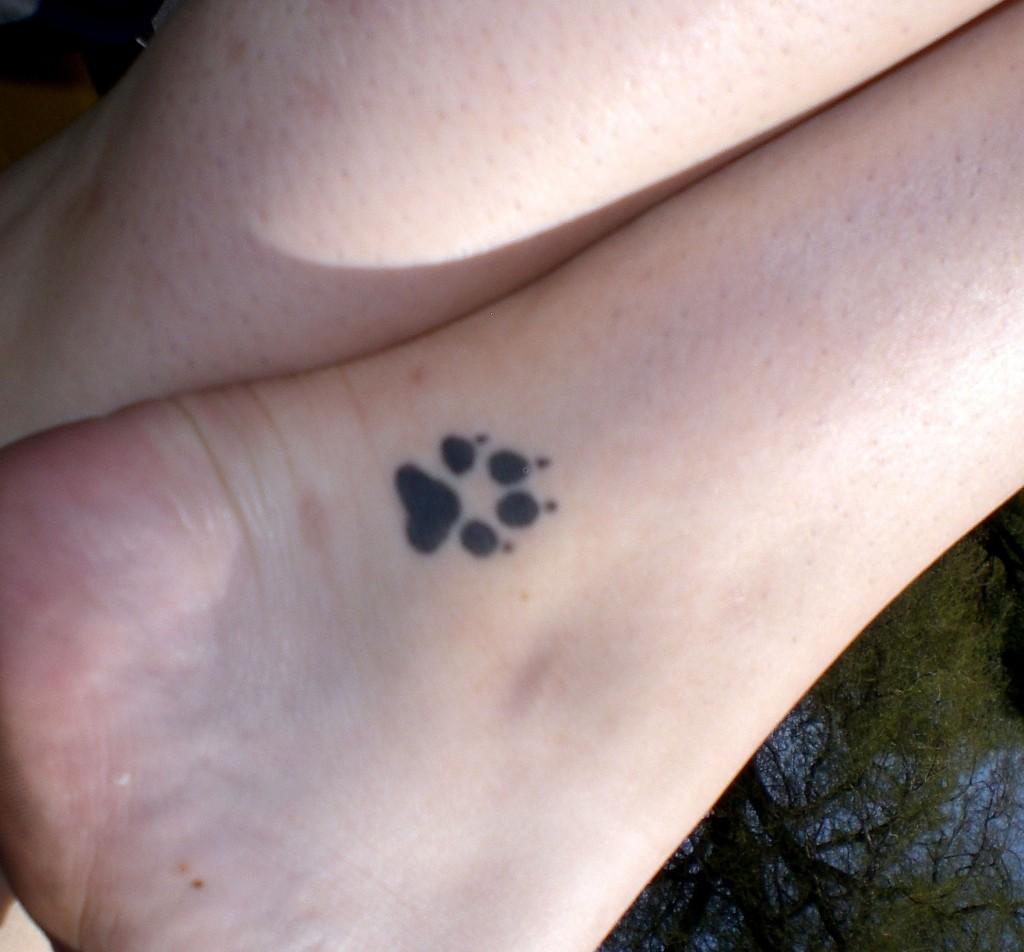 paw tattoos photo - 13