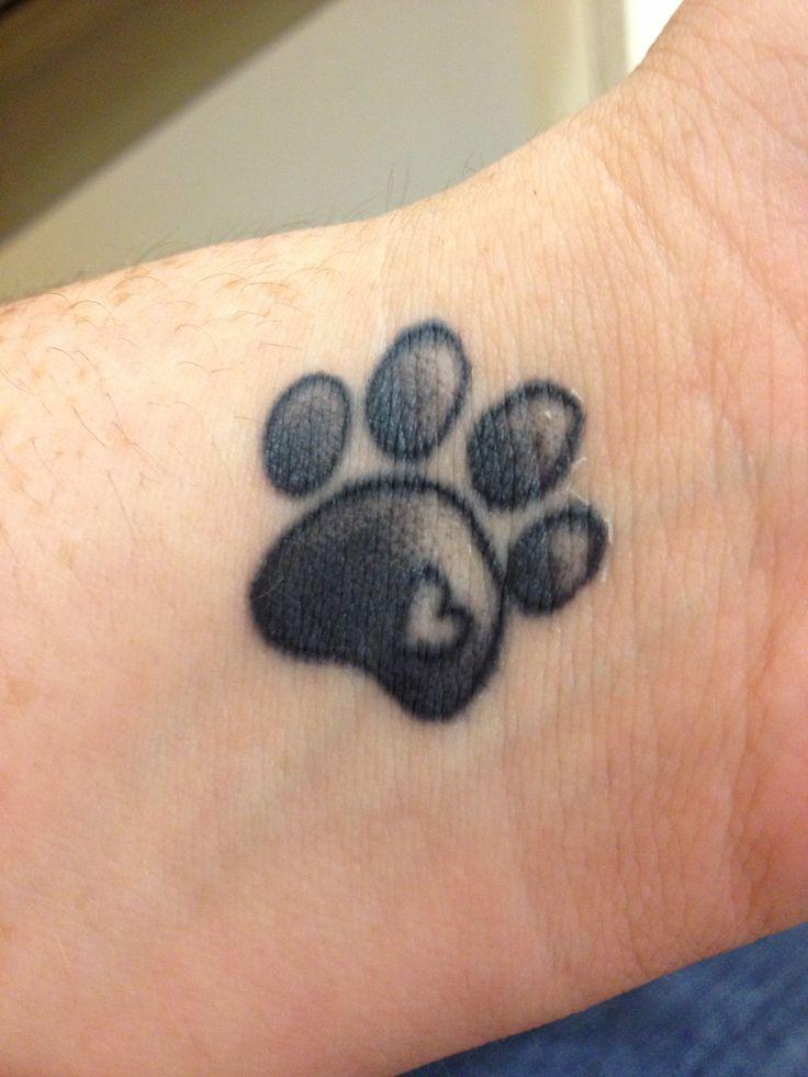 paw tattoos photo - 14