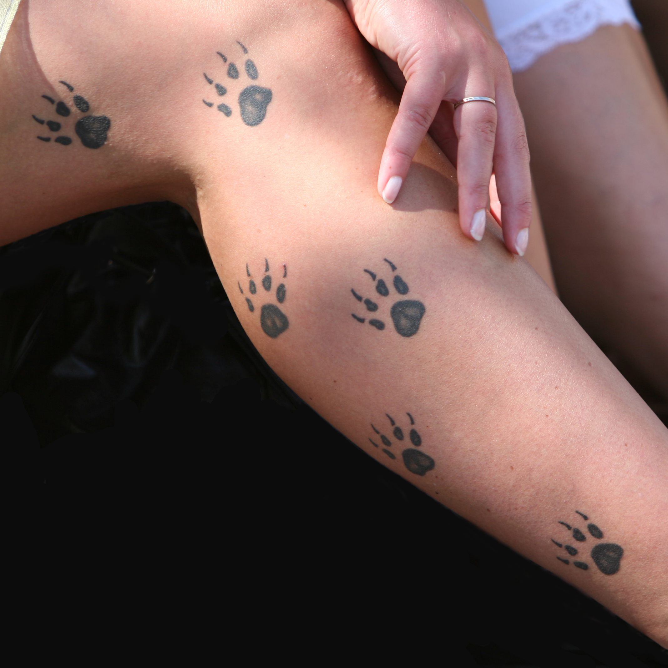 paw tattoos photo - 16