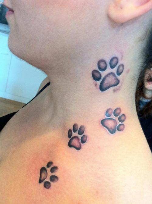 paw tattoos photo - 18