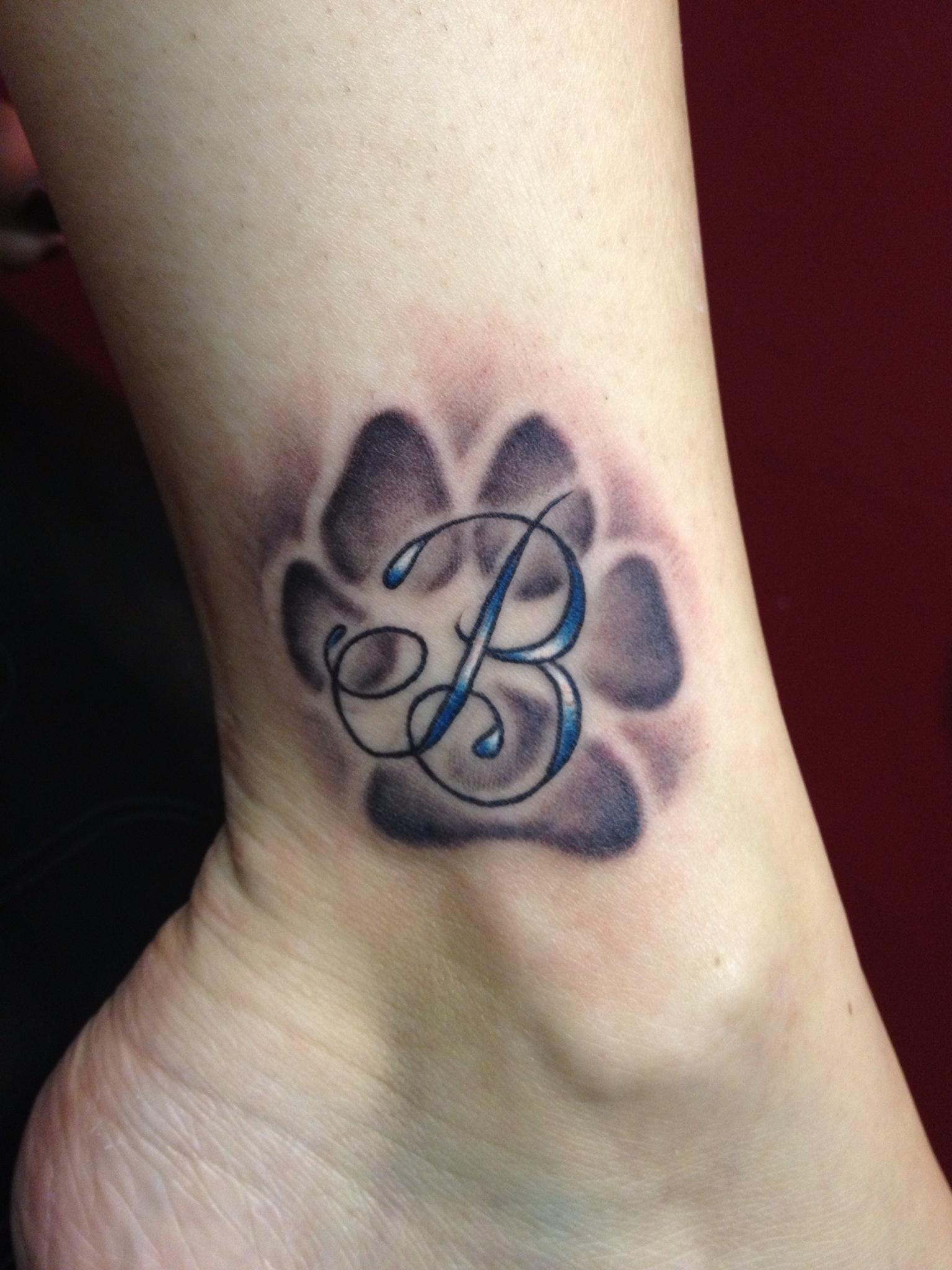 paw tattoos photo - 21