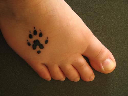 paw tattoos photo - 23