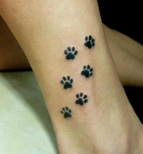 paw tattoos photo - 27