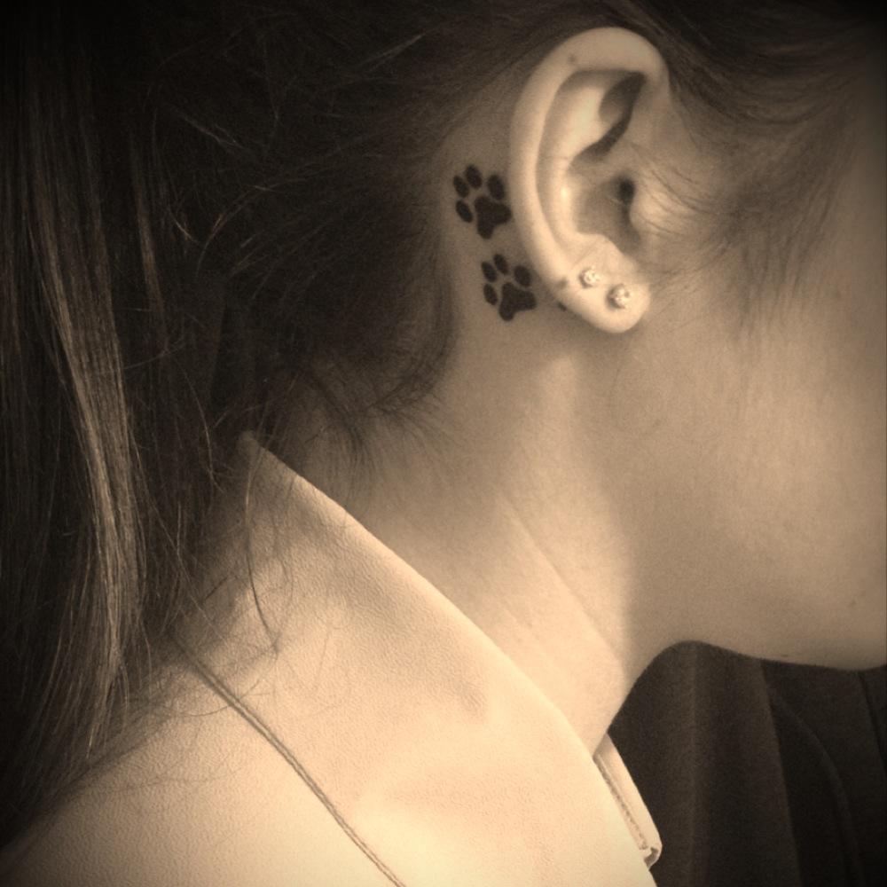 paw tattoos photo - 28