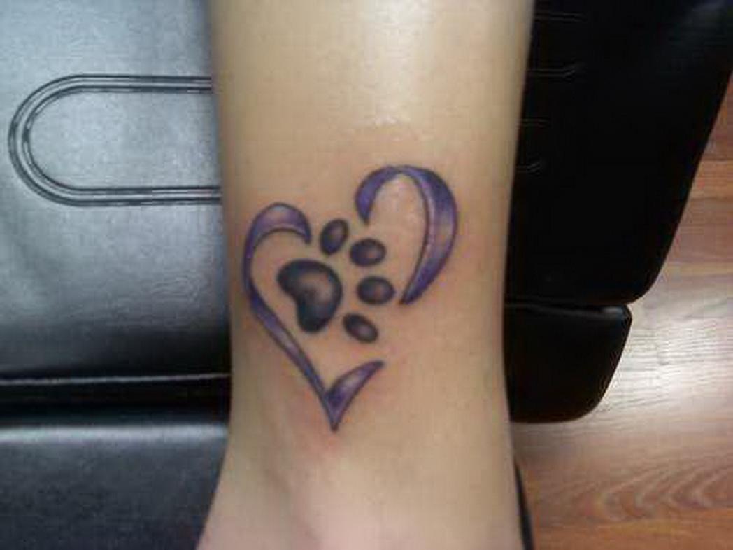 paw tattoos photo - 29