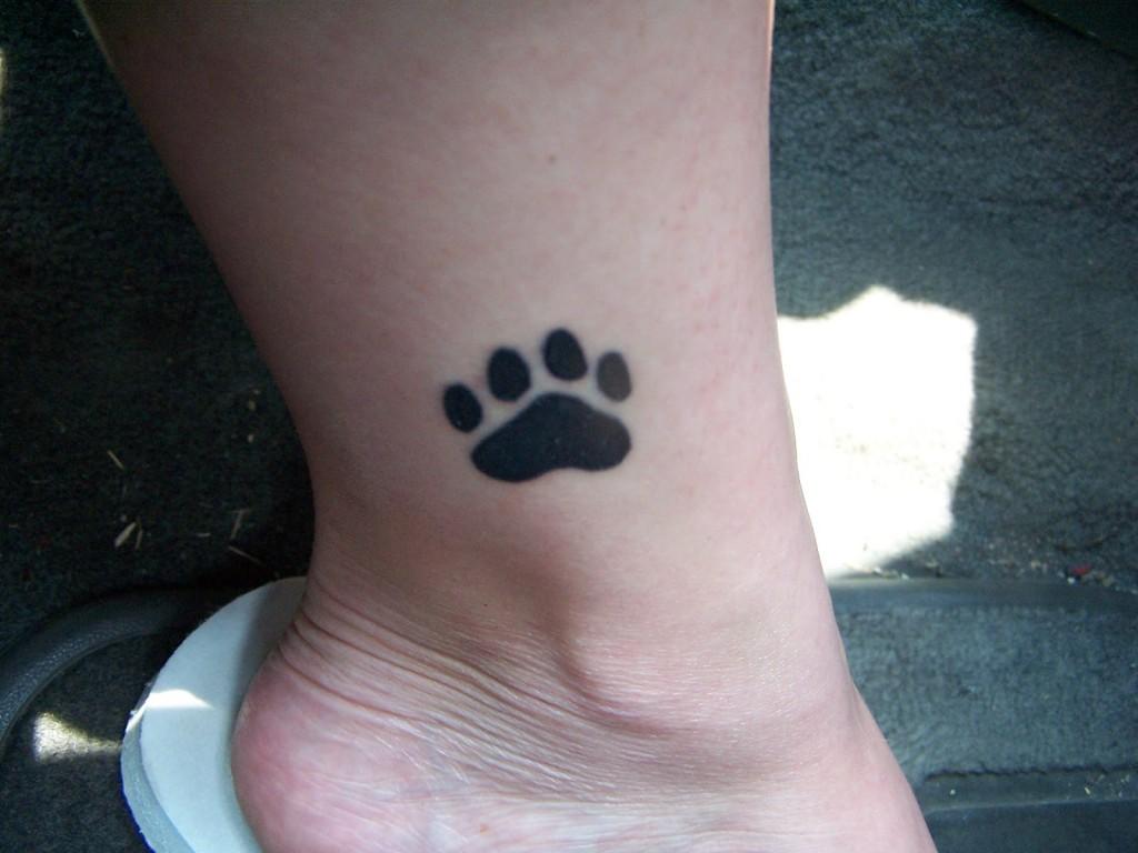 paw tattoos photo - 30