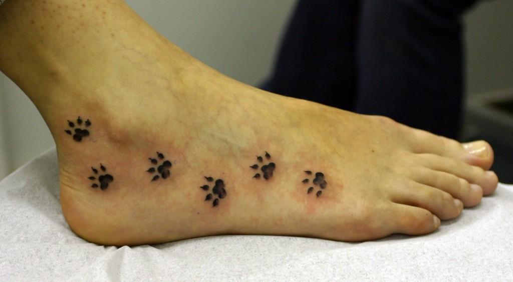 paw tattoos photo - 5