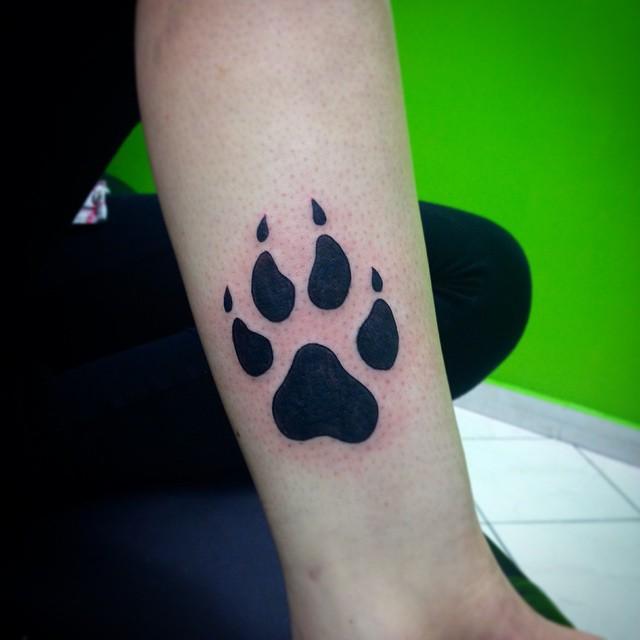 paw tattoos photo - 6
