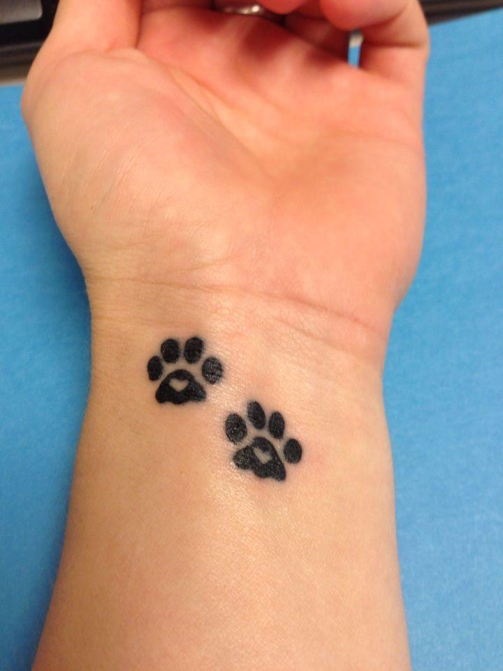 paw tattoos photo - 7