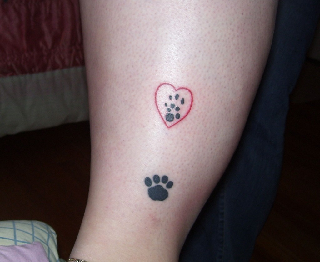 paw tattoos photo - 9