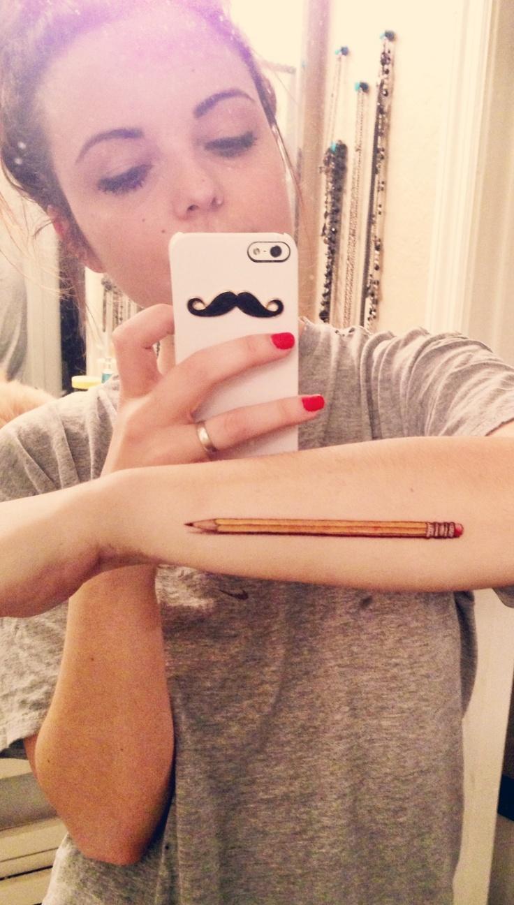 pencil tattoos photo - 10