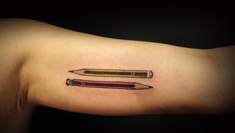 pencil tattoos photo - 15
