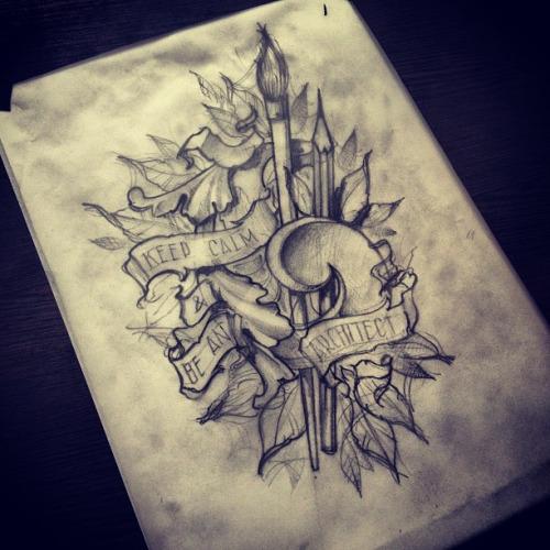 pencil tattoos photo - 18