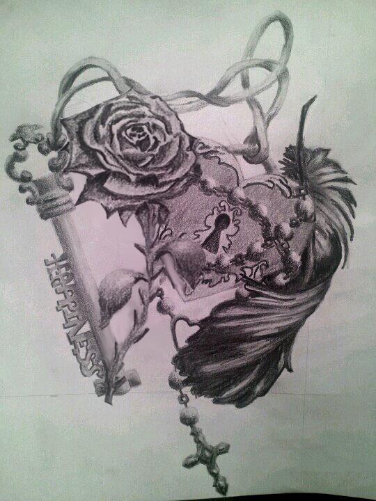 pencil tattoos photo - 20