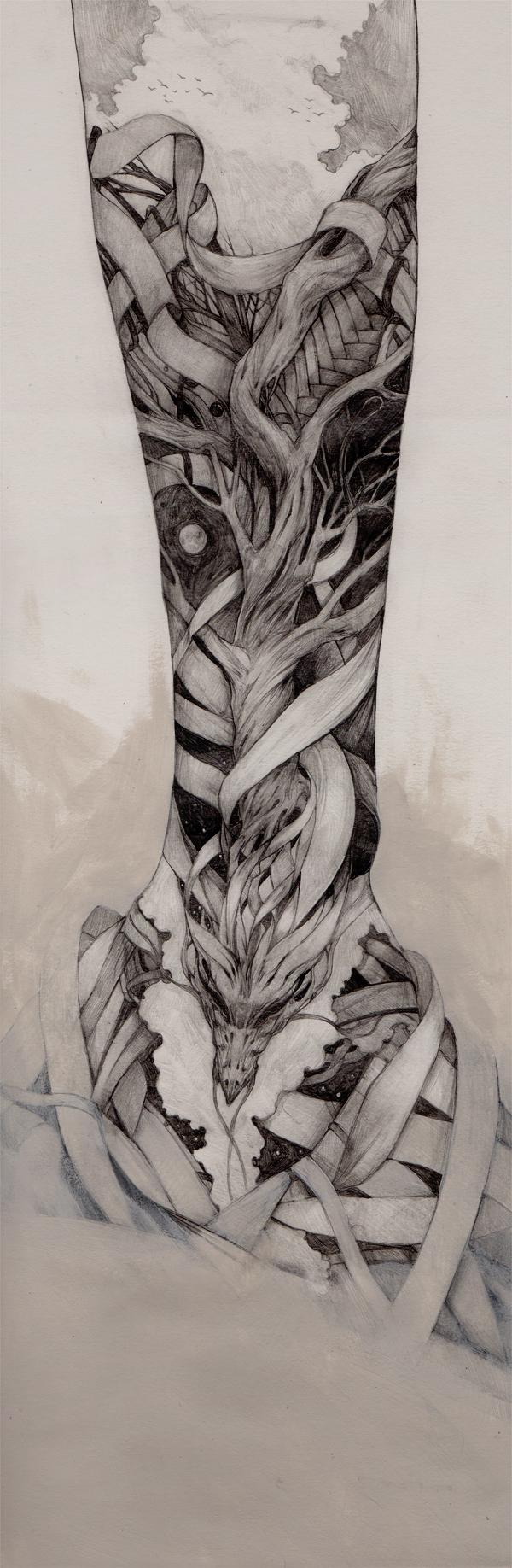 pencil tattoos photo - 24