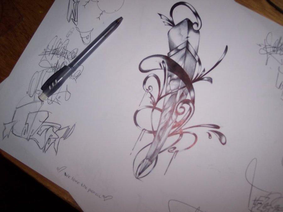 pencil tattoos photo - 25